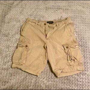 Men's American Eagle Long Cargo Shorts